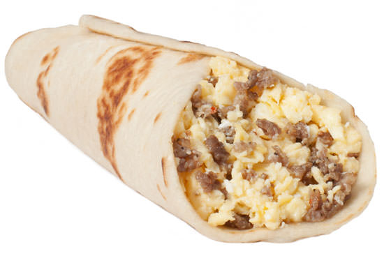 Sausage and Egg Taco