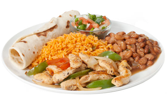 Chicken Fajita Plate