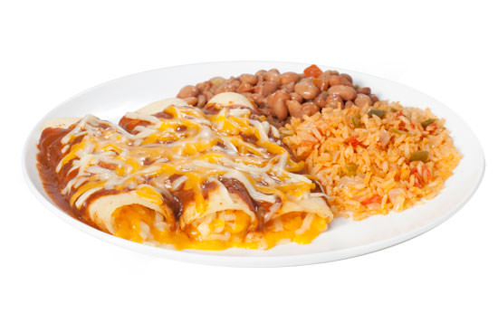 Cheese Enchiladas Plate
