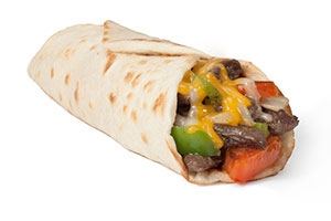 Beef Fajita Taco with Cheese