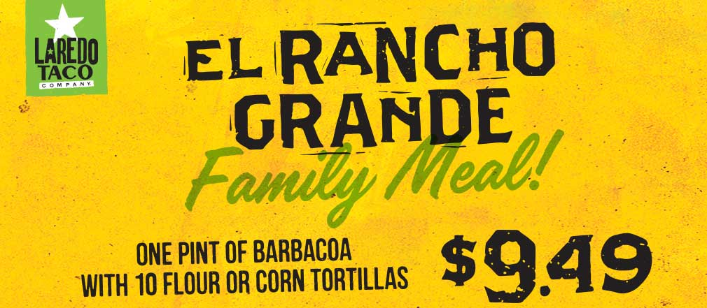 Feed the family! Barbacoa and tortillas only $9.49 at Stripes!