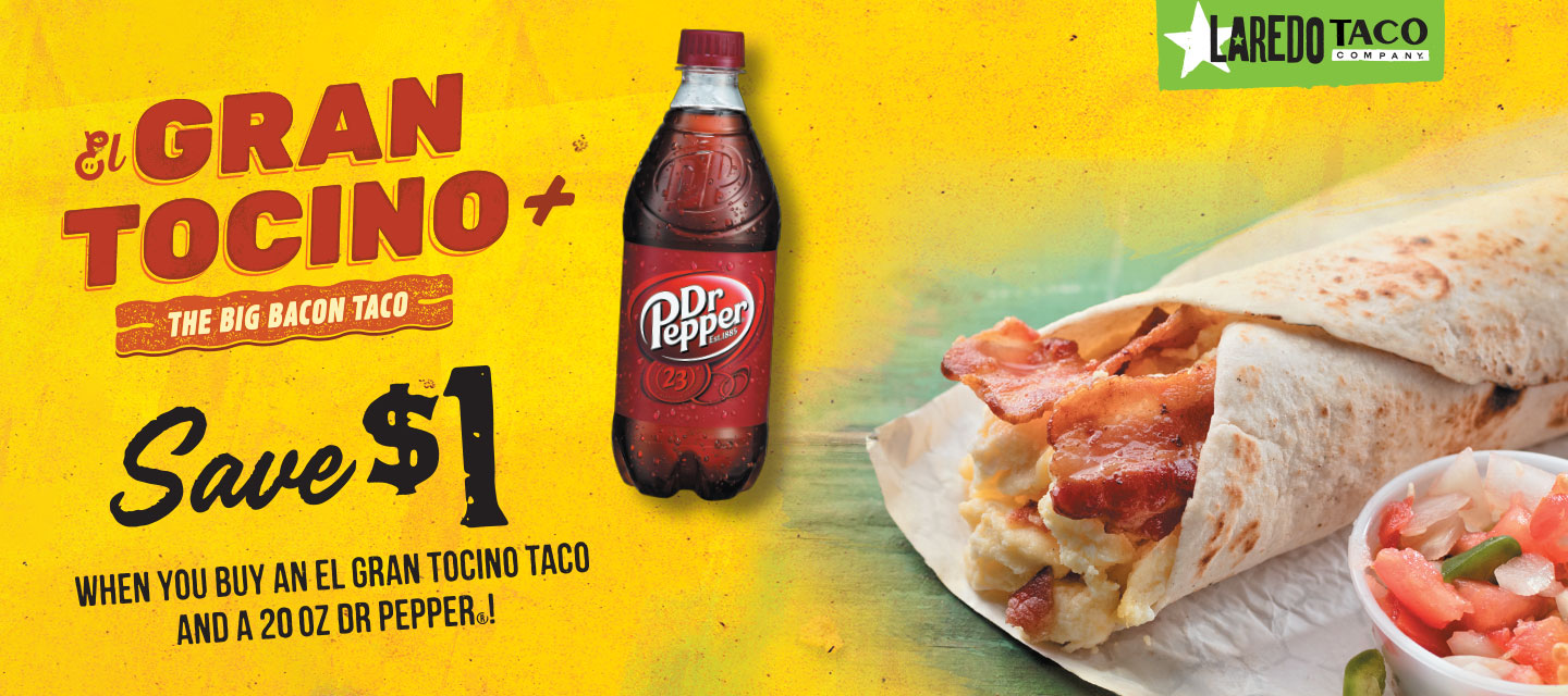 Gran Tocino! The Big Bacon Taco