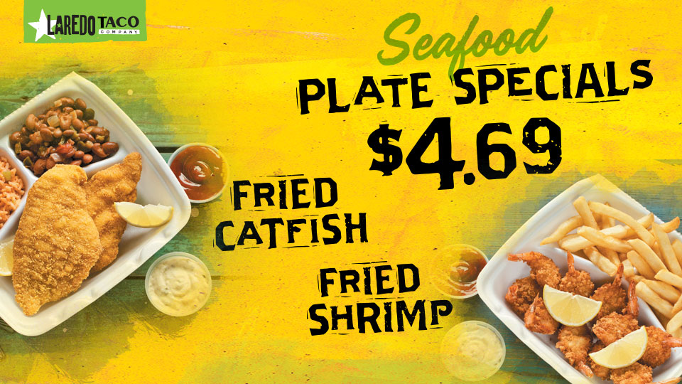 Catfish and Shrimp Specials