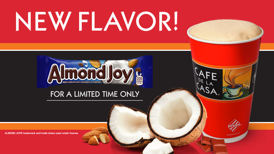 New Almond Joy Flavor
