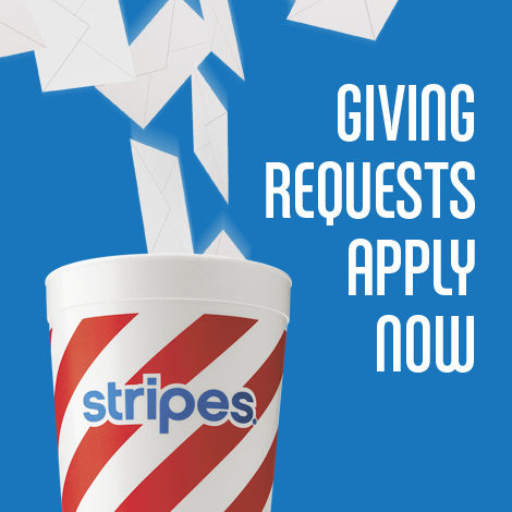 Stripes Stores | Giving Requests Apply Now