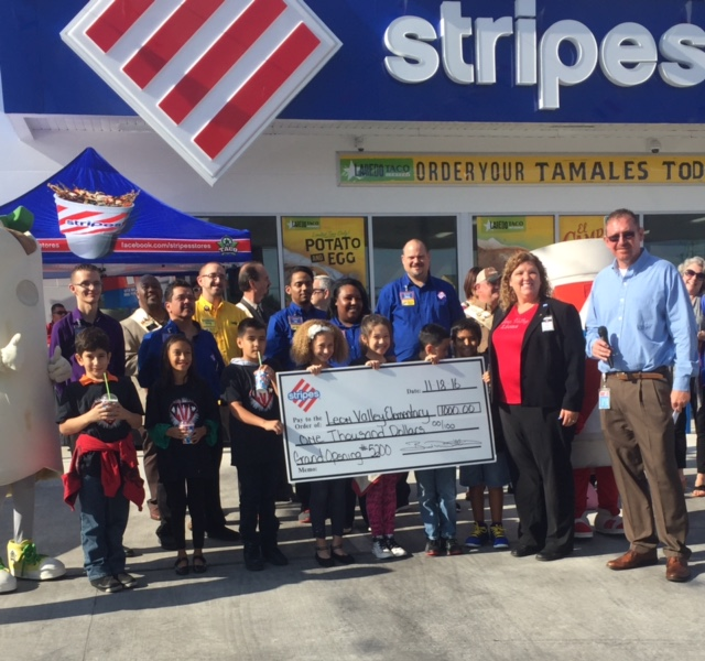 Stripes Convenience Stores opened its second location in San Antonio, Texas