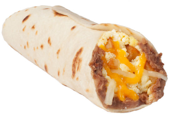 Potato, Egg, Bean, and Cheese (Q-taco)