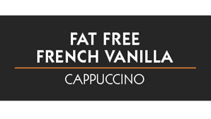 Fat Free French Vanilla Cappuccino