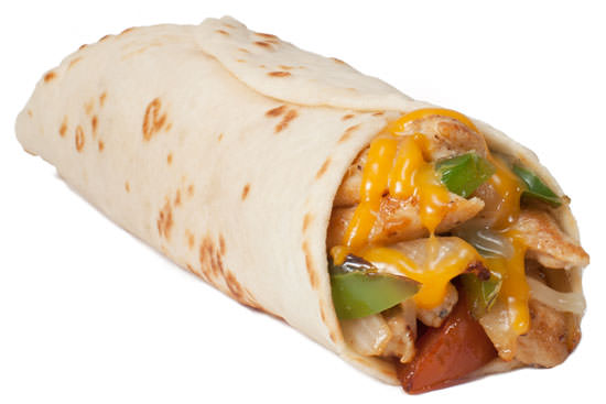Chicken Fajita Taco with Cheese
