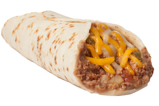 Picadillo Taco with Cheese