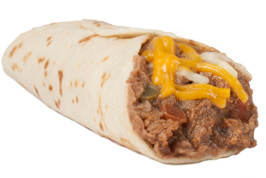 Carne Guisada Taco with Cheese