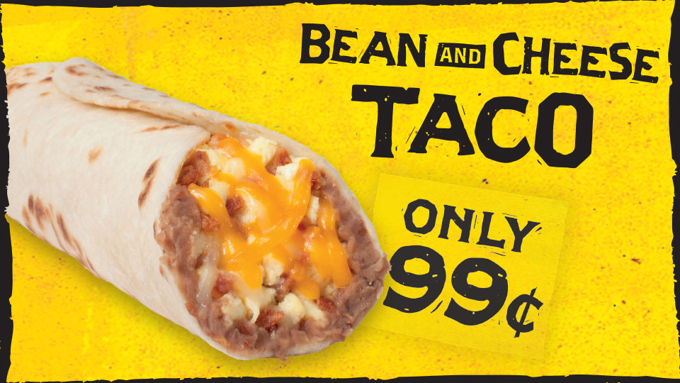 Bean & Cheese Breakfast Taco Image