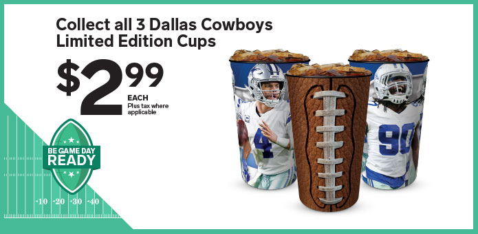 Cowboys cups are here  Image