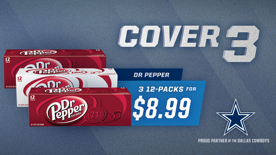 Cover 3: 3 Dr. Pepper 12-Packs for $8.99 Image