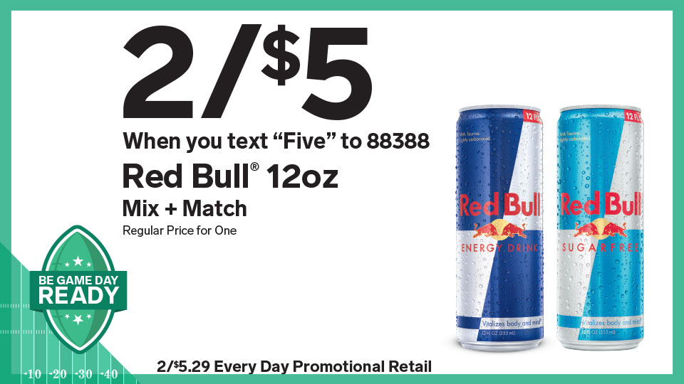 Game Day Red Bull Image