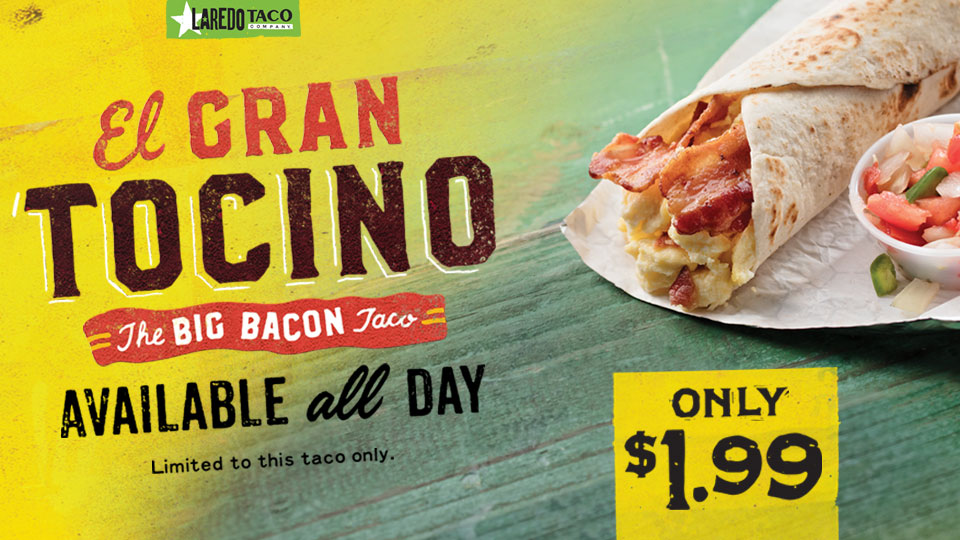 The Big Bacon Taco Image
