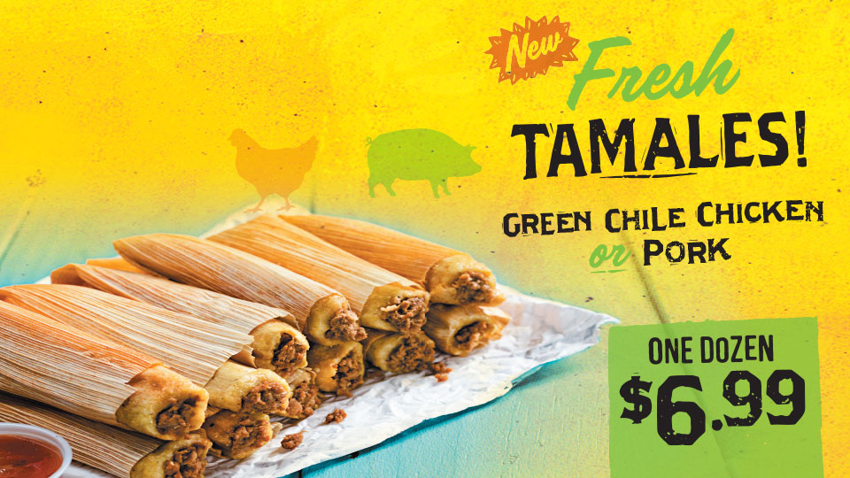 Fresh Tamales! Chicken OR Pork Image