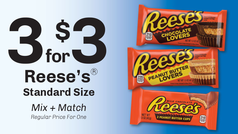 3 for $3 Reese's  Image