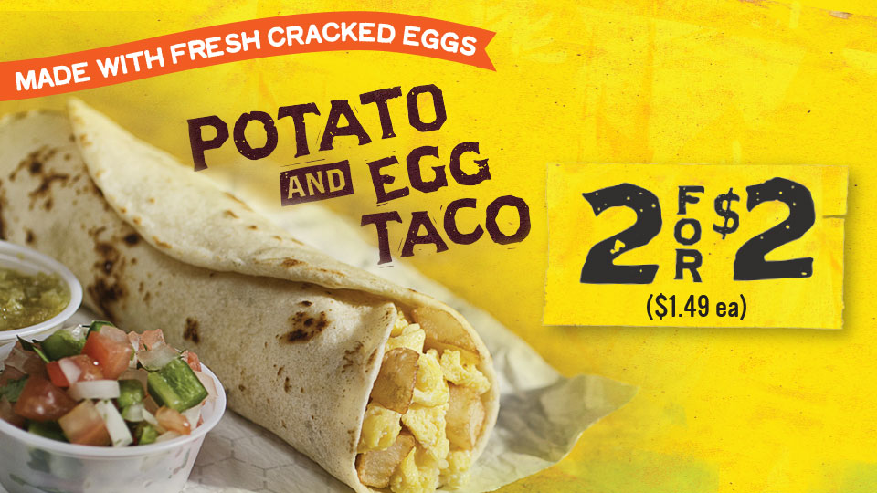 Potato and Egg: Made with Fresh Cracked Eggs Image