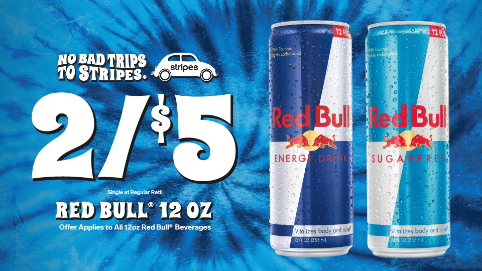 Get going with Red Bull! Image