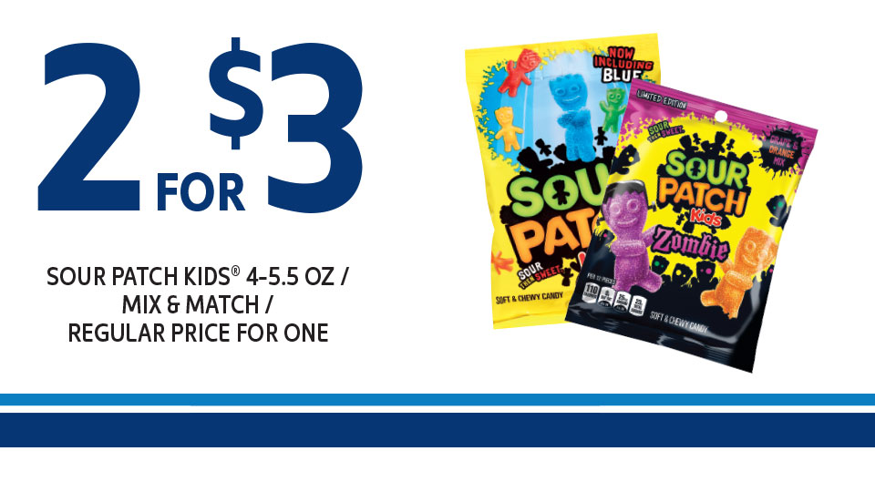 Sour Patch Kids: 2 for $3 Image