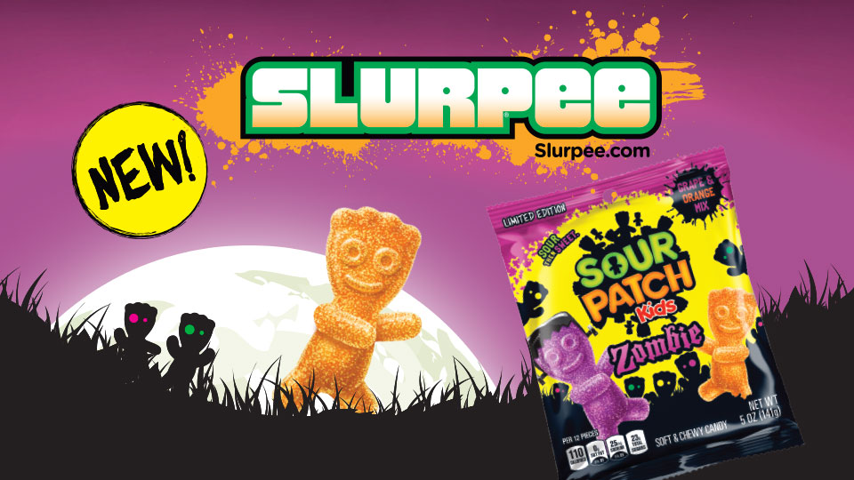 NEW! Zombie Sour Patch Slurpee Image