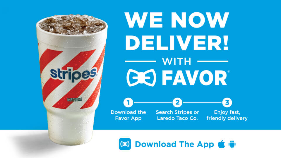 Get your favorites delivered. Image