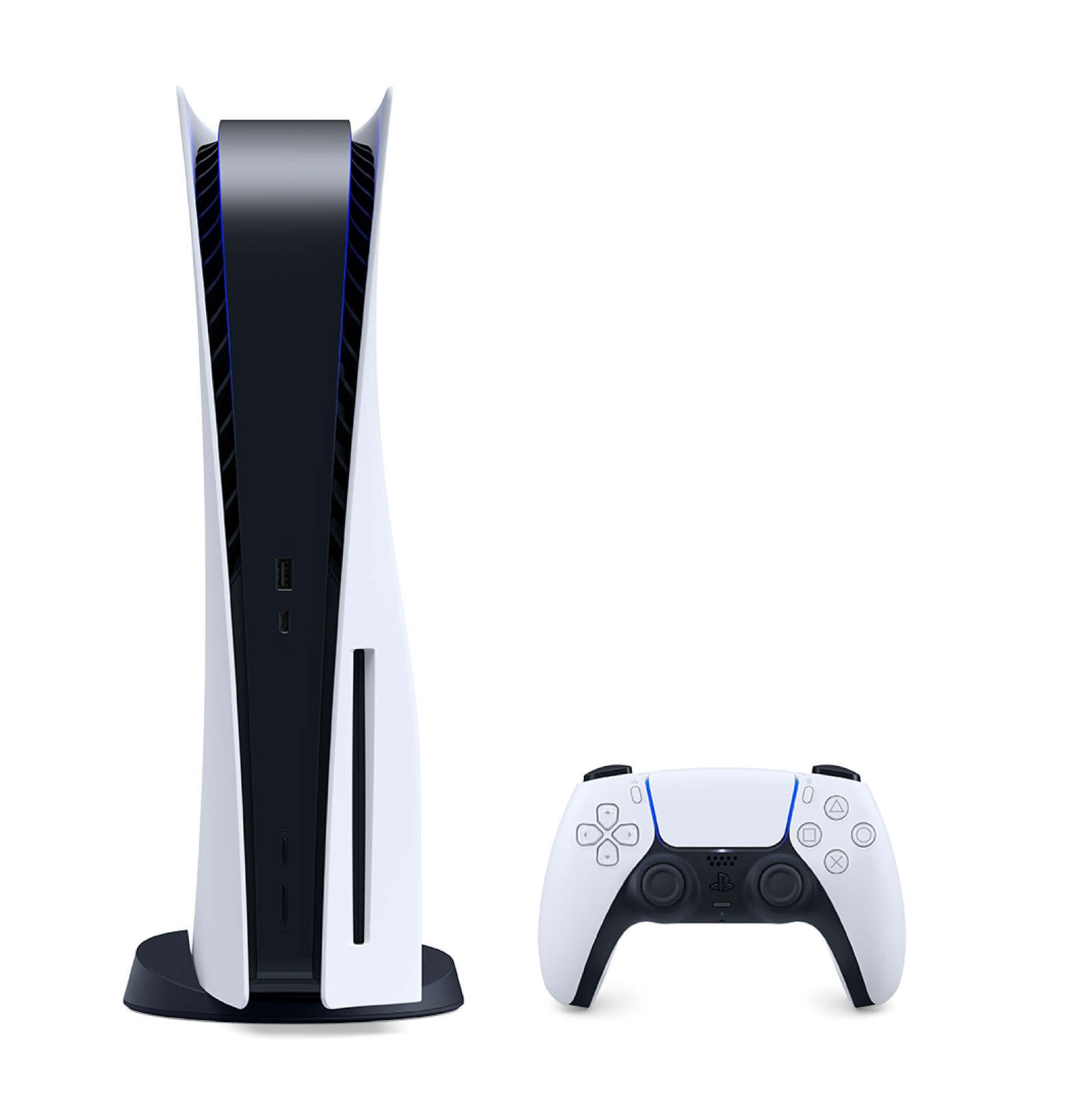 Playstation 5 with dualsense controller
