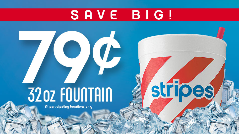 79¢ Fountain Drinks