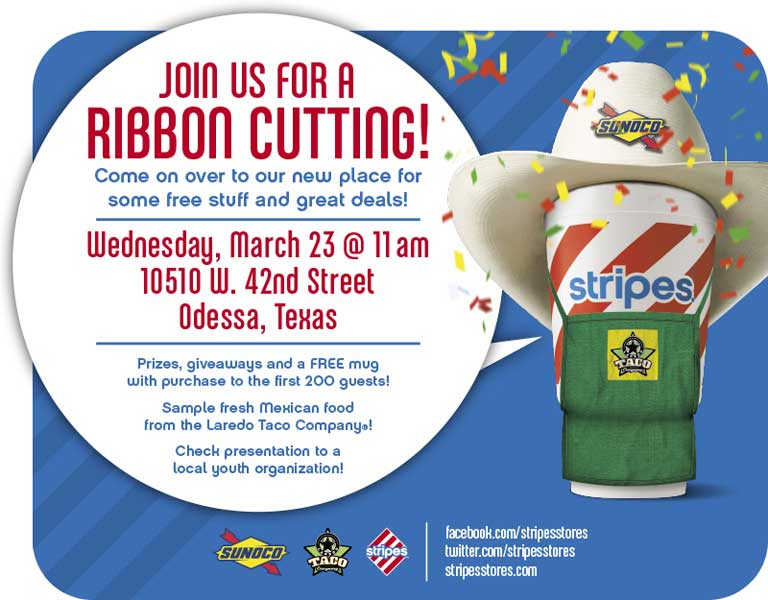 Stripes® Convenience Stores Announce Stripes Store #2487