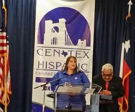 The CenTex Hispanic Chamber of Commerce presented the 2014