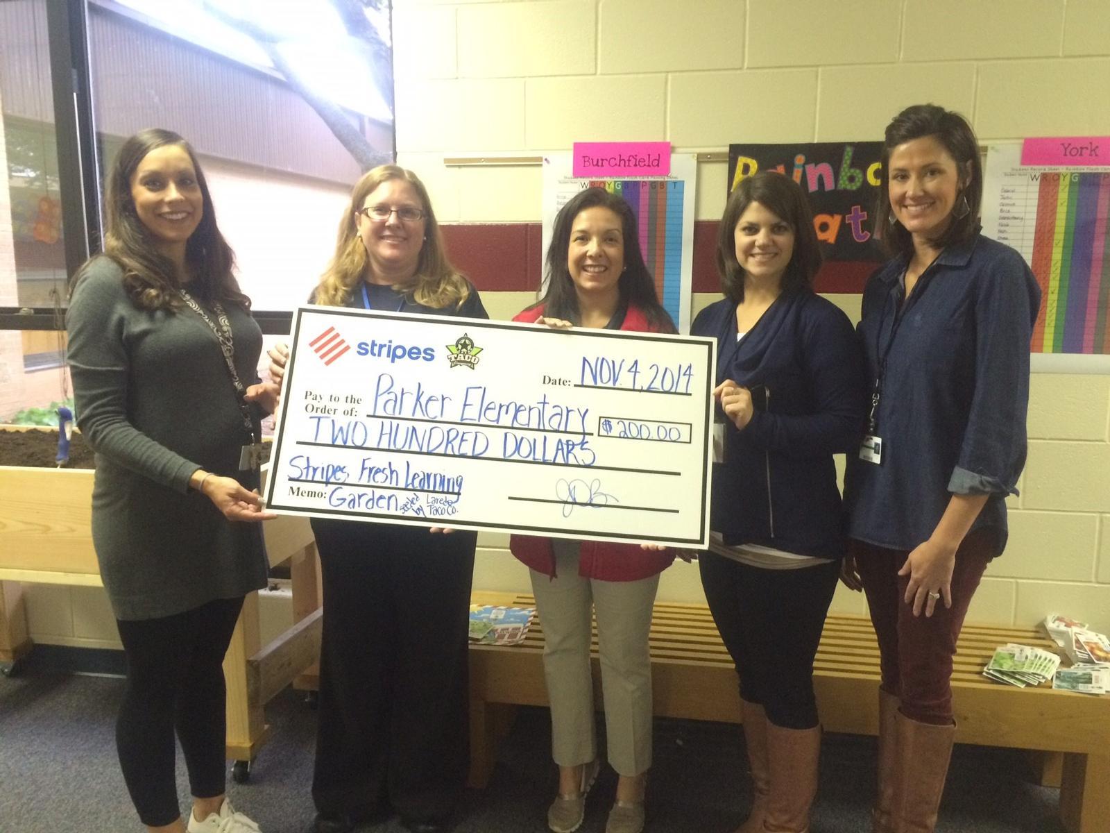 Midland Texas News >> Parker Elementary School In Midland Tx Receives The Stripes